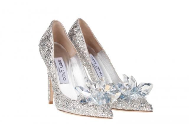 Jimmi Choo scarpa Cenerentola